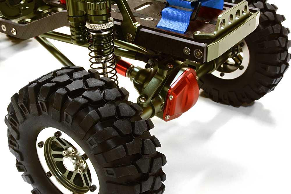 V2 Billet Machined 1/10 Size CF310 Trail Roller 4WD Off-Road Scale Crawler ARTR