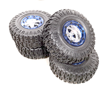 Replacement Wheel and Tire for iROCK-10 (new, take-off)