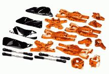 T8695ORANGE Suspension Kit for HPI 1/10 Bullet MT & Bullet ST (used)