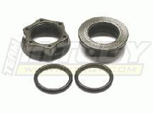 23mm Size PRO Wheel Nut (2) for 23mm Hex Hub