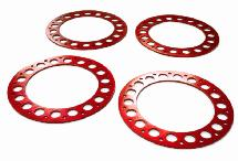 Outer Red Ring O.D.102mm (4) for Beadlock Wheel