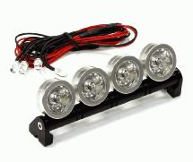 Roof Top Angle Adjustable Spot LED Light Set for 1/10 and 1/8 Size