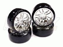 Type III Complete Wheel & Tire Set (4) for Drift Racing