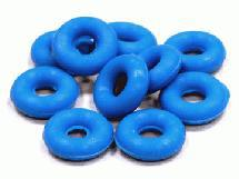 Blue Silicone O-Ring (10) 9x3.5x3mm Size