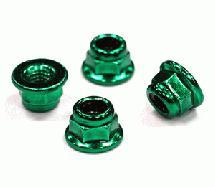 Steel M4 Size Color Wheel Nut 4pcs Set