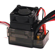 Rock Crawler ESC w/ Cooling Fan (Limit: 55T x 2 Motors)