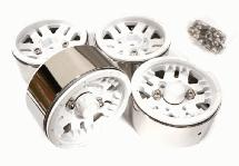 1.9 Size Billet Machined Alloy 5 Spoke Wheel(4) High Mass Type for Scale Crawler
