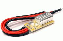Mini 5V-25V Voltmeter + 30A Current Meter by G.T. Power