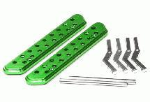 Billet Machined Side Step Running Board (2) for Axial SCX-10, Dingo & Honcho