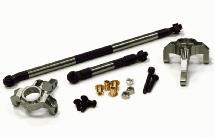 HD Billet Machined Steering Blocks and Linkages for Axial SCX-10, Honcho & Dingo