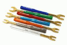 Color Coded Ti-N EZ Access Wrench 7pcs Set 3/16, 1/4, 11/32, 4.5, 5.0, 5.5 & 7.0