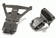 Machined Front & Rear Bulkhead for Traxxas Slash 4X4 LCG Chassis