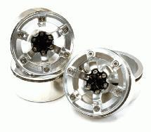 1.9 Size Billet Machined Alloy 6 Spoke Wheel(4) High Mass Type for Scale Crawler