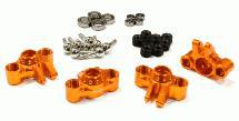 Billet Machined Steering Block Conversion for 1/16 E-Revo, Slash, Rally & Summit