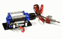 Billet Machined T9 Realistic High Torque Mega Winch for Scale Rock Crawler 1/10