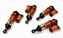 Billet Machined Shock Set (4) for HPI 1/8 Apache SC Flux