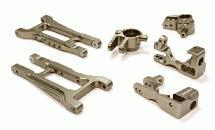 Billet Machined Front Suspension Kit for Traxxas 1/10 Telluride 4X4 Trail Rig