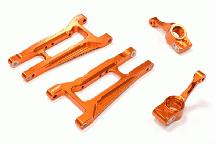 Billet Machined Rear Suspension Kit for Traxxas 1/10 Telluride 4X4 Trail Rig