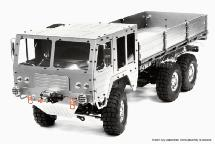 Billet Machined 6X6 7T GL High-Mobility Off-Road Truck 1/10 Size ARTR