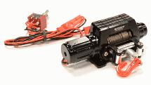 Billet Machined T10 Realistic High Torque Mega Winch for Scale 1/10 Rock Crawler