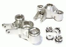 Billet Machined Steering Knuckles for Traxxas 1/10 E/T-Maxx need 6x13mm bearings