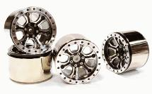 Billet Machined T3 High Mass 2.2 Wheel (4) for Axial 1/10 Yeti Rock Racer