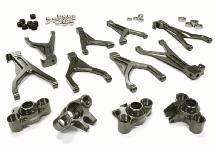 Billet Machined T6 Alloy Conversion Kit for 1/16 Traxxas E-Revo & Summit
