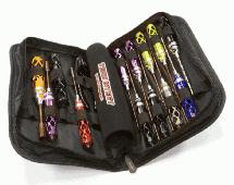 Standard Size 17pcs Competition Tool Set w/ Carrying Bag for 1/10 Off-Road