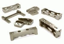 Billet Machined Chassis Cross Brace Set for most Tamiya 1/14 Scale Tractor Truck