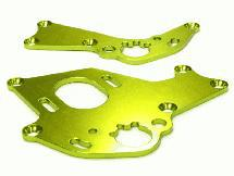 Billet Machined Motor Mount Plates for HPI 1/10 Sprint 2 On-Road