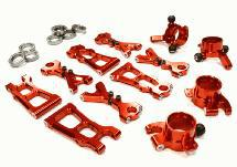 Billet Machined Suspension Kit for HPI 1/10 Scale E10 On-Road