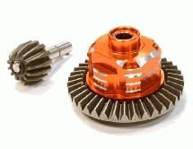 Metal Gear Differential Set for Axial Wraith, SCX-10 Dingo, Honcho & Jeep