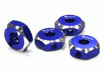 12mm Hex Wheel (4) Hub 5mm Thick for 1/10 Axial, Tamiya, TC & Drift