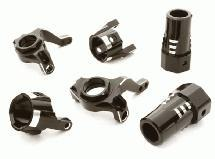 Billet Machined Steering, Caster Block & Rear Lockout Set for Axial SCX-10