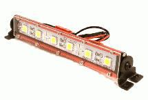 Realistic Roof Top SMD LED Light Bar 123x17x21mm for 1/10 Scale Crawler