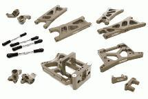 Billet Machined Suspension Kit for HPI 1/10 Jumpshot MT, SC & ST