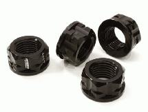 Serrated 17mm Hex Wheel Nut (4) for Most 1/8 Buggy, Truggy, SC & Monster Truck