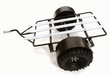 Realistic Leaf Spring Motorcycle Trailer Kit for 1/10 Scale RC