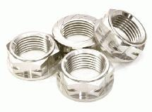 Billet Machined Serrated 23mm Hex Wheel Nut(4) for 1/10 & 1/8 Size Monster Truck
