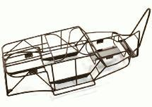 Realistic Steel Roll Cage for Axial 1/10 Wraith 2.2 Rock Racer