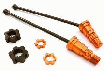 Universal Drive Shafts w/ Stub Axles (2) for Traxxas X-Maxx 4X4