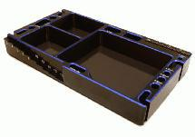 Universal Workbench Organizer 145x80x20mm Workstation Tray