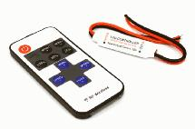 5-24VDC, 12A Inline LED Multifunction RF Wireless Controller w/ 11-key Remote
