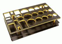 Universal Workbench Organizer 195x117x40mm Workstation Tray
