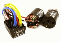 Scale Off-Road Edition Waterproof WP-860 ESC & Dual Drive Motors 19T 540 Size