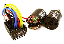 V2 Scale Off-Road Edition Waterproof WP-880 ESC & Dual Drive Motors 45T 540 Size
