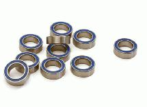 Low Friction Blue Rubber Sealed Ball Bearings (10) 5x8x2.5mm for RC Vehicles