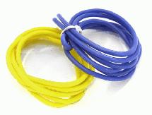 Flexible 16 AWG Gauge Silicone Wire 1m Set, 39in Blue 39in Yellow