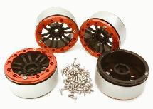 Billet Machined 1.9 Size 12 Spoke Wheels for Traxxas TRX-4 Scale & Trail Crawler