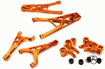 Billet Machined Front Suspension Set for Traxxas 1/10 Scale Summit 4WD